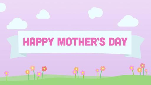 Mother's Day: Pink - Happy Mother's Day - Motion