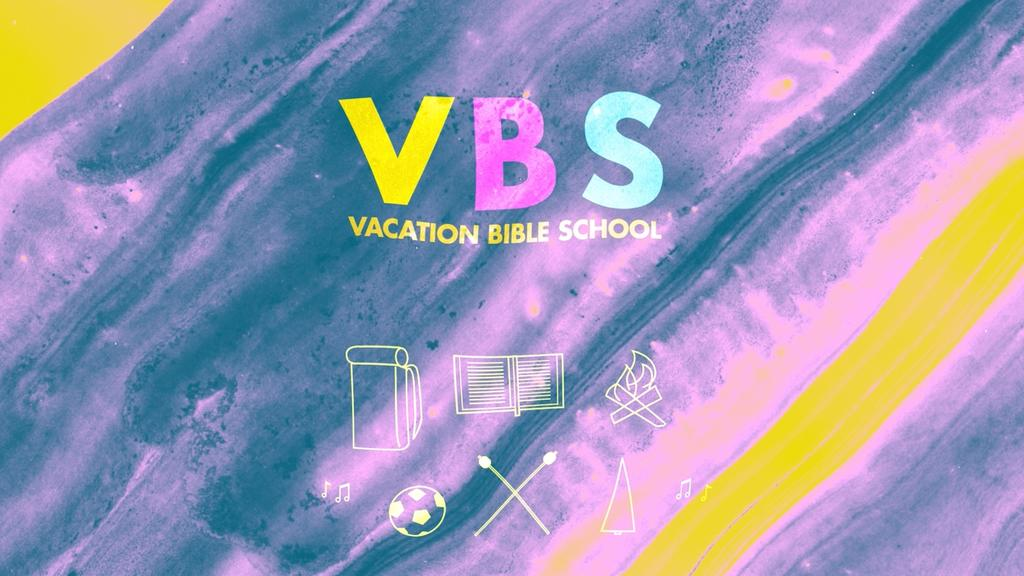 Colorful Vacation Bible School large preview