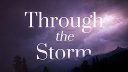 Through the Storm strom 16x9 PowerPoint Photoshop image