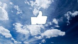 Clouds facebook 16x9 PowerPoint image