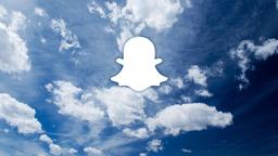Clouds snapchat 16x9 PowerPoint image