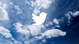 Clouds twitter 16x9 PowerPoint image