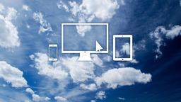 Clouds website 16x9 PowerPoint image