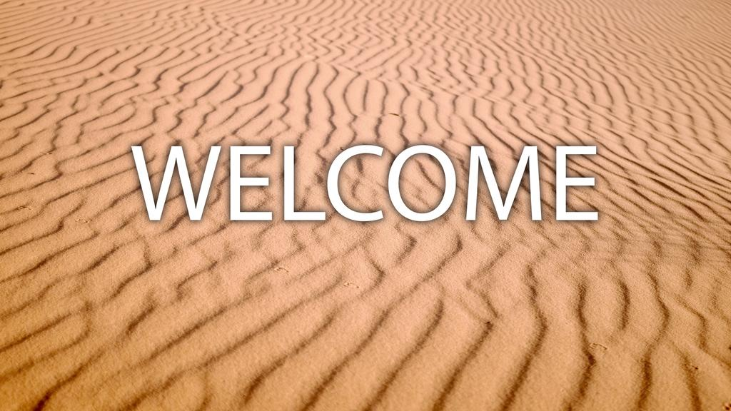 Desert welcome 16x9 smart media preview
