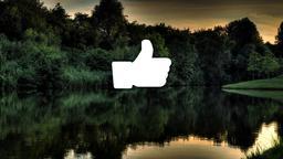 Lake Sunset facebook 16x9 PowerPoint image