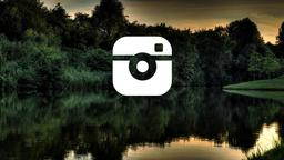 Lake Sunset instagram 16x9 PowerPoint image