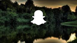 Lake Sunset snapchat 16x9 PowerPoint image