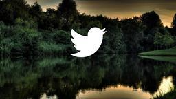 Lake Sunset twitter 16x9 PowerPoint image
