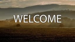 Landscape welcome 16x9 PowerPoint image