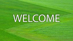 Meadows welcome 16x9 PowerPoint image