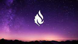 Shooting Star Over Mountains faithlife 16x9 PowerPoint image