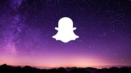 Shooting Star Over Mountains snapchat 16x9 PowerPoint image