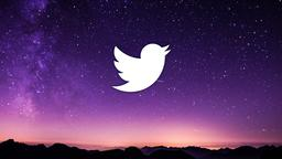 Shooting Star Over Mountains twitter 16x9 PowerPoint image