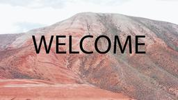 Desert Mountain welcome 16x9 PowerPoint image