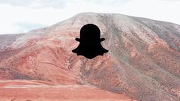 Desert Mountain snapchat 16x9 PowerPoint image