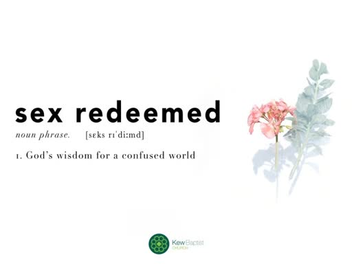 Sex Redeemed: The Bible And Sex