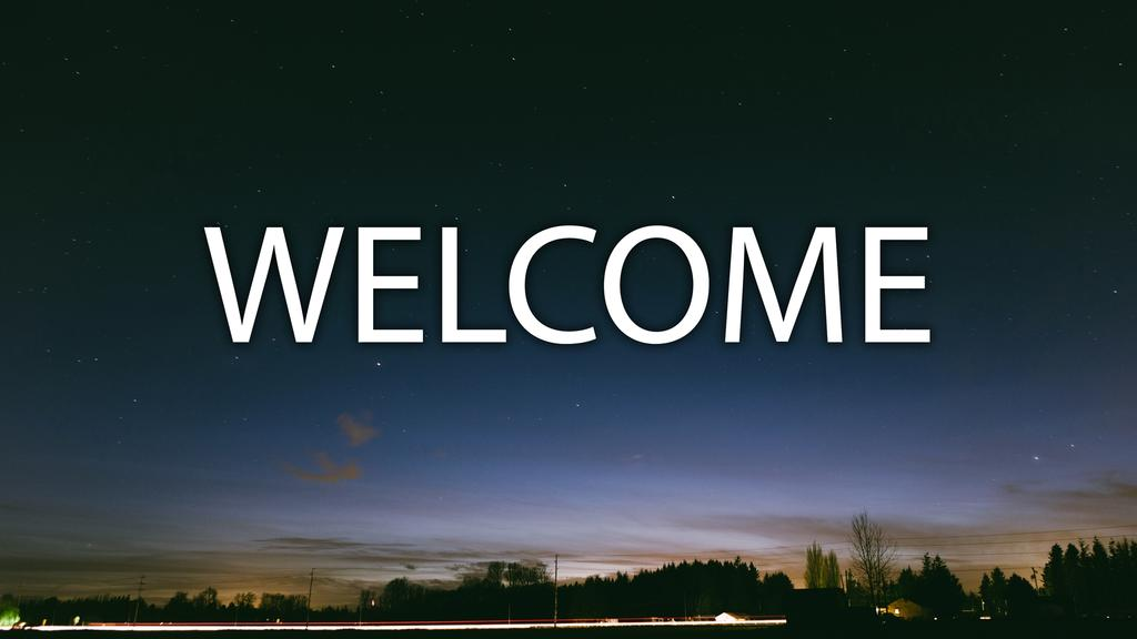 Night welcome 16x9 smart media preview