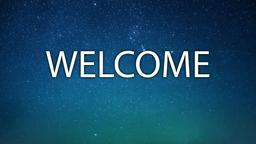Night Skyline welcome 16x9 PowerPoint image