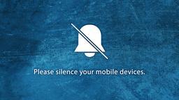 Blue Texture phones 16x9 PowerPoint image