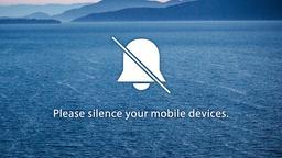 Boat Sailing at Sea phones 16x9 PowerPoint image