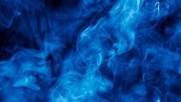 Blue Smoke sermon title 16x9 PowerPoint image
