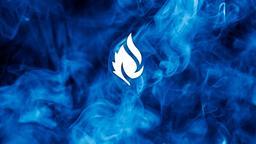 Blue Smoke faithlife 16x9 PowerPoint image