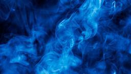 Blue Smoke header subheader 16x9 PowerPoint image