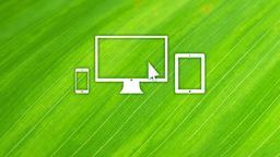 Leaf website 16x9 PowerPoint image