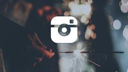 Sparkler instagram 16x9 PowerPoint image