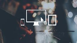 Sparkler website 16x9 PowerPoint image
