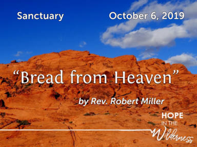 October 6, 2019 - Sanctuary-world communion