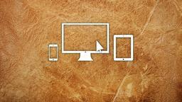 Worn Leather website 16x9 PowerPoint image