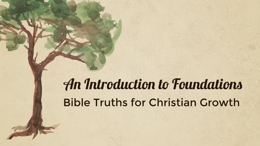 An Introduction to Foundations
