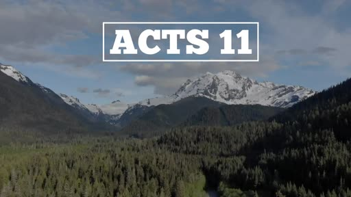 Acts 11 Change Is Good!