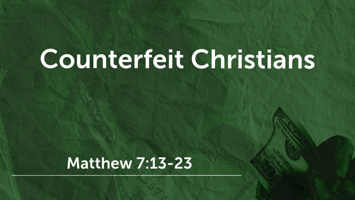 Counterfeit Christians