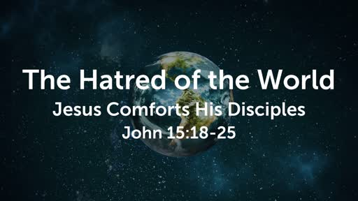 The Hatred of the World