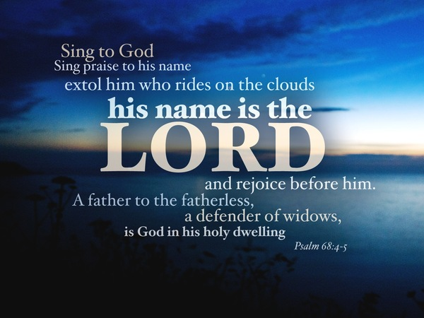 """Psalm 68: """"Blessed be God!"""""""