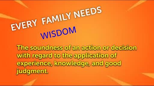 FAMILY MATTERS -Spirit of Wisdom