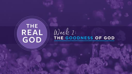 Week 2: The Goodness of God