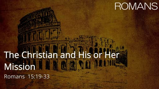 The Christian and His or Her Mission