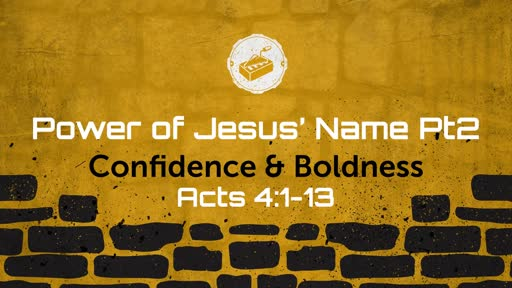 Power of Jesus' Name Pt2