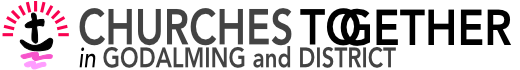 Churches Together In Godalming Logo Grey With Colour Logo