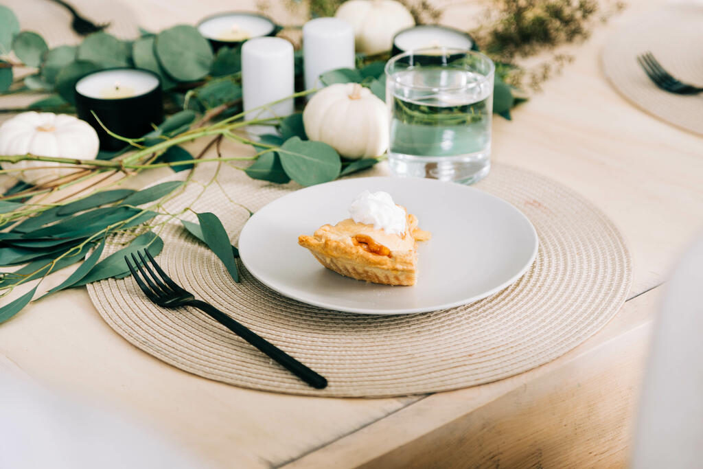 Slice of Apple Pie with Whipped Cream large preview