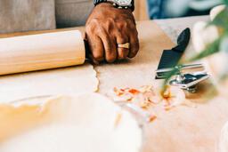 Man Baking Apple Pie  image 2