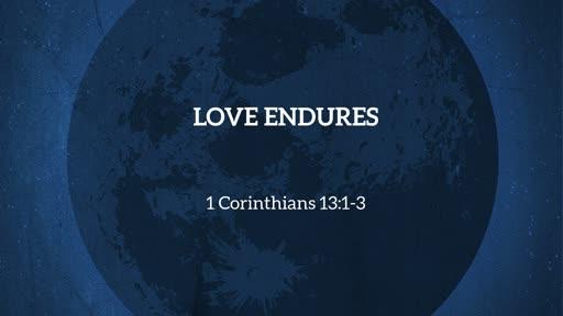 10-9-19 Enduring Love