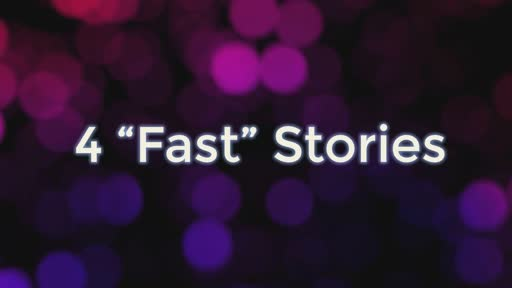 "Wednesday Oct 9 - 4 ""Fast"" Stories"