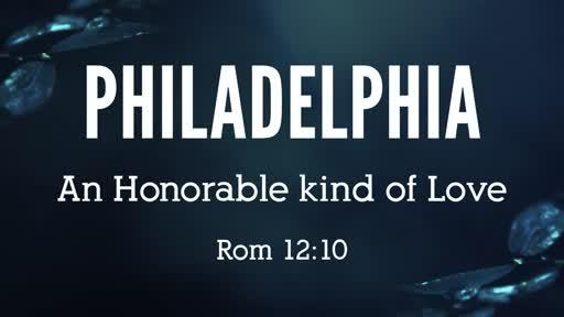 Philadelphia, Rom 12:10