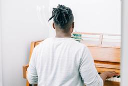 Man Playing Piano  image 5