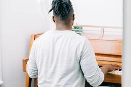 Man Playing Piano  image 4