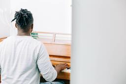 Man Playing Piano  image 2